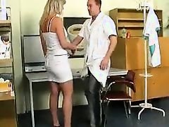 Doctor Makes Her Pussy Wet